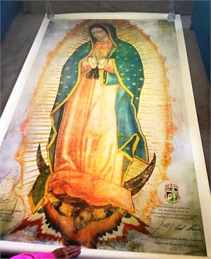 Our Lady of Guadalupe art - on sale