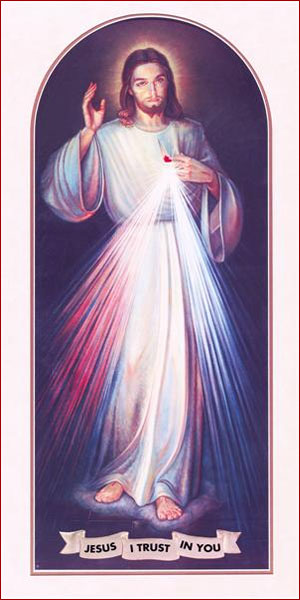A high quality Apostles Divine Mercy picture.