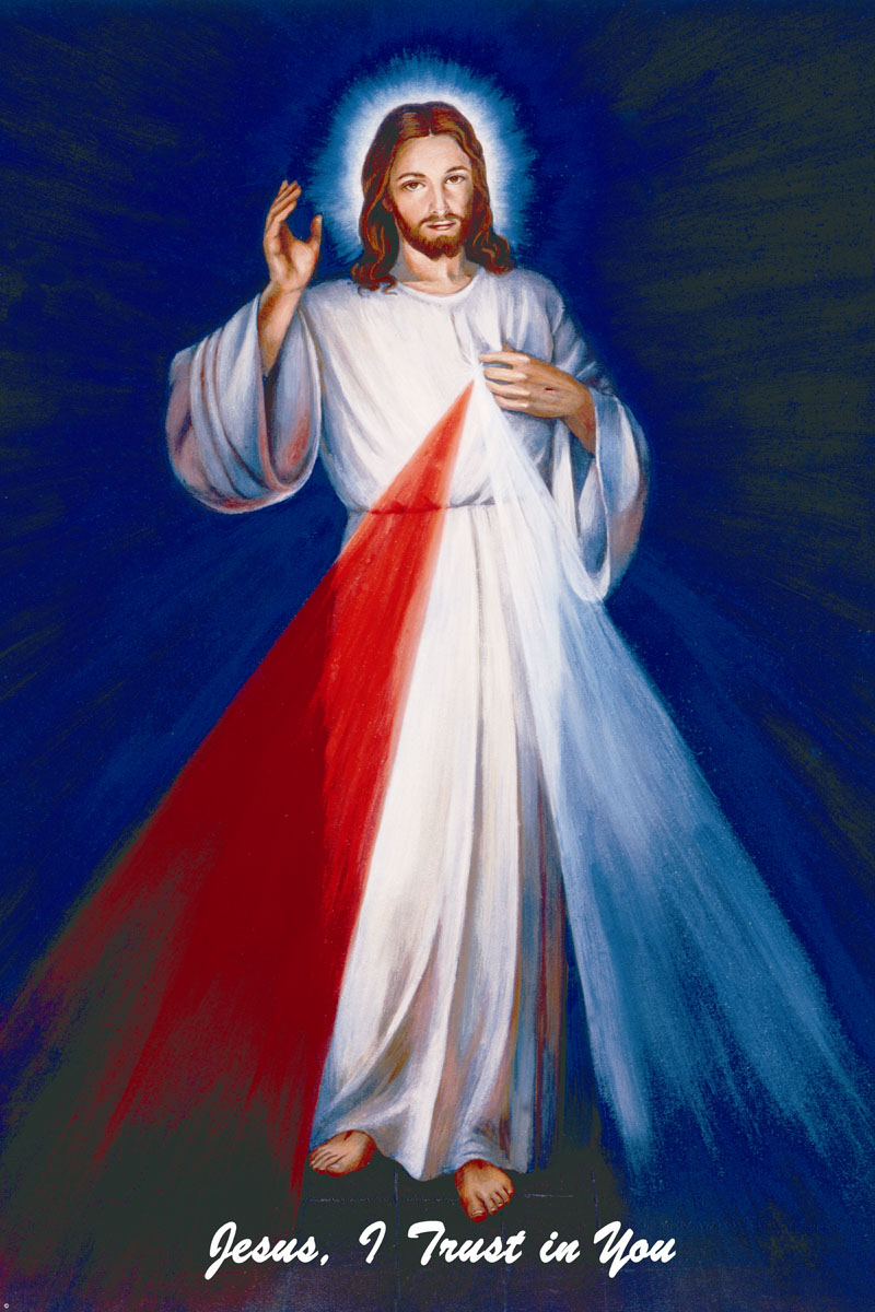 A high quality Hyla Divine Mercy picture.