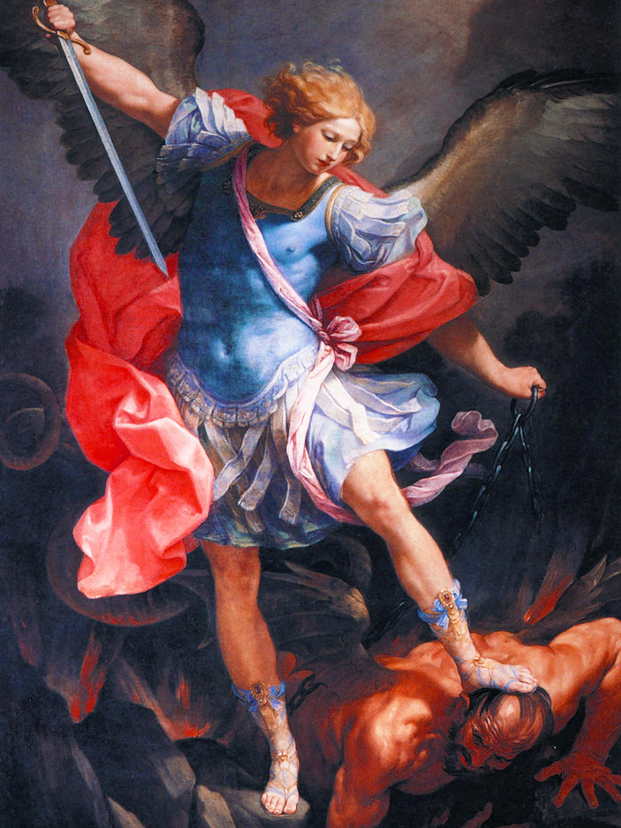 A high quality St. Michael The Archangel picture.