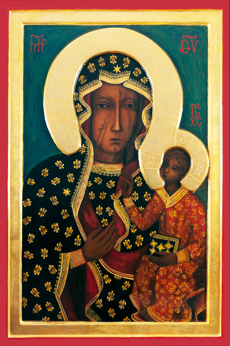A high quality The Black Madonna picture.